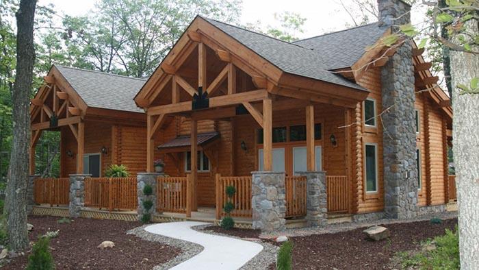 Passi per progettare la propria cabina di log con rivenditori di cabine di tronchi su misura - Progettare la propria casa ...